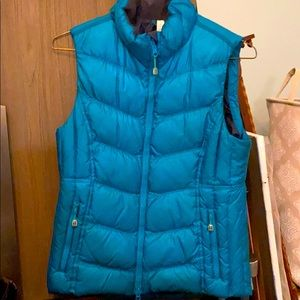 Lululemon ski vest size 8 turquoise